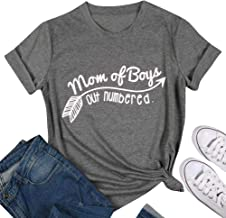 mother of boys t shirt