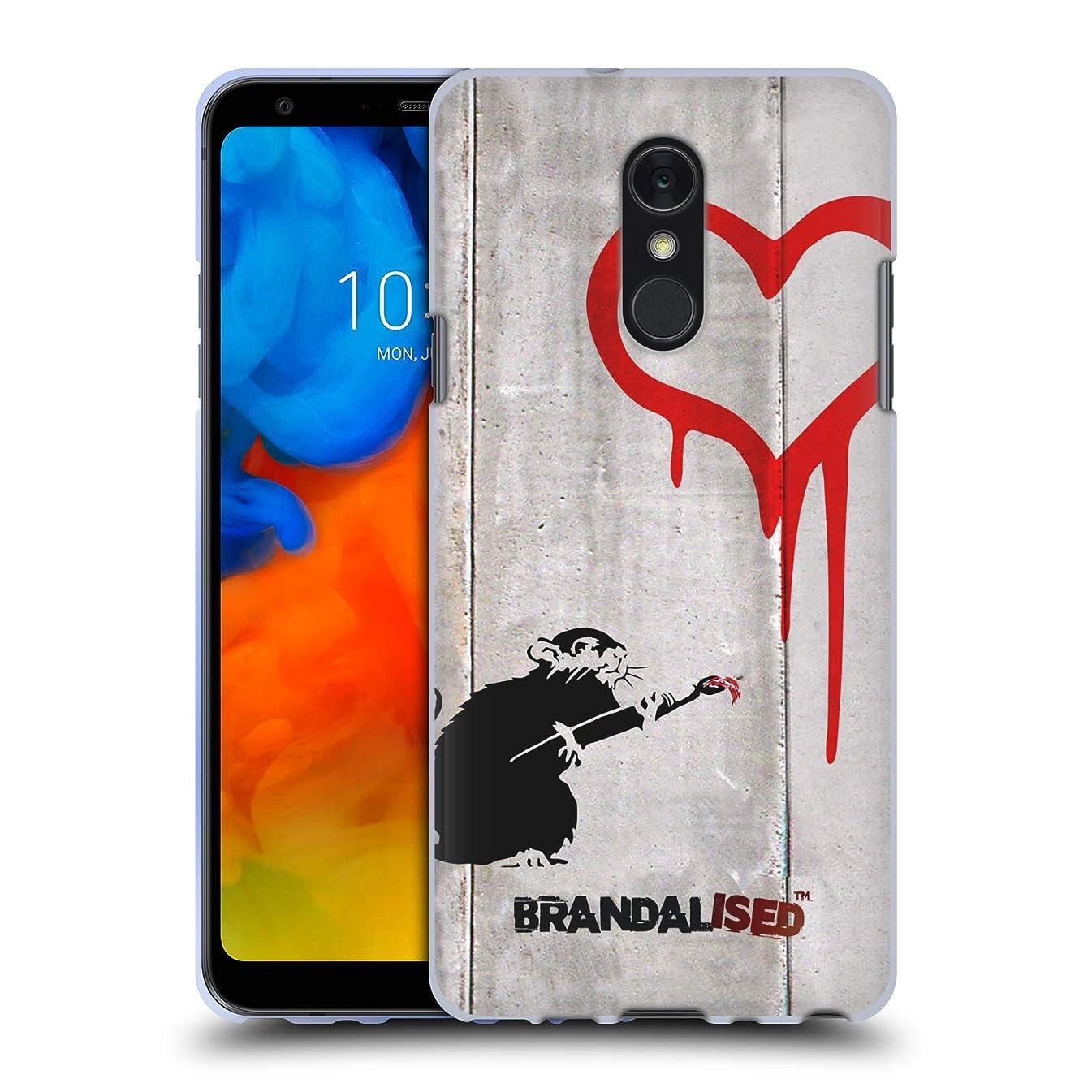 Official Brandalised Love Rat Banksy Art Street Tags Soft Gel Case for LG Q Stylus/Q Stylo 4
