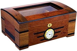 Cigar Smoking Accessories Base of Cedar Wood Cedar Wood Veneer parquet Paint Humidor Cigar Box