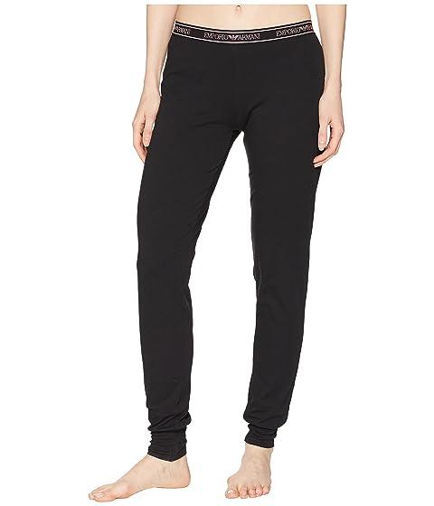 Emporio Armani Iconic Logoband Cuff Sweatpants
