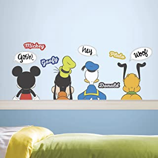 RoomMates Mickey and Friends Peel And Stick Wall Decals With Dry Erase