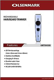 OLSENMARK OMTR4066,OlsenmarkReachargble hair Trimmer, black,