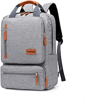 VEYIINA NERO Laptop Backpack,Unisex Lightweight Travel Backpack,Fit for 14/15.6 Inch Computer Business Backpacks,Large Capacity College School Backpack,Water Resistant Casual Daypack for Men and Women