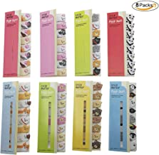 Cute Cartoon Animal Panda Bear Dog Rabbit Sheep Cat Penguin Sticker DIY Memo Pad Sticky Notes Notepaper Office School Supplies(8 Packs)