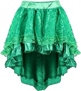 Steampunk Renaissance Skirt Women Victorian Pirate Skirt Halloween Costume