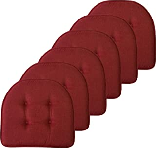 Sweet Home Collection Chair Cushion Memory Foam Pads...