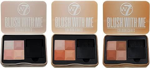 w7 professional soft brush set