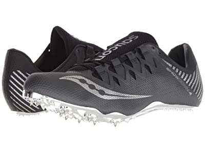 Saucony Showdown 4 (Gunmetal/Black) Men