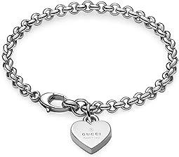 Trademark Bracelet w/ Heart Charm