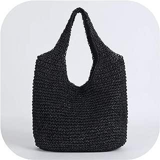 Straw Shopping Bag Rattan Women'S Shoulder Bags Fashion Summer Beach Bag Handbag