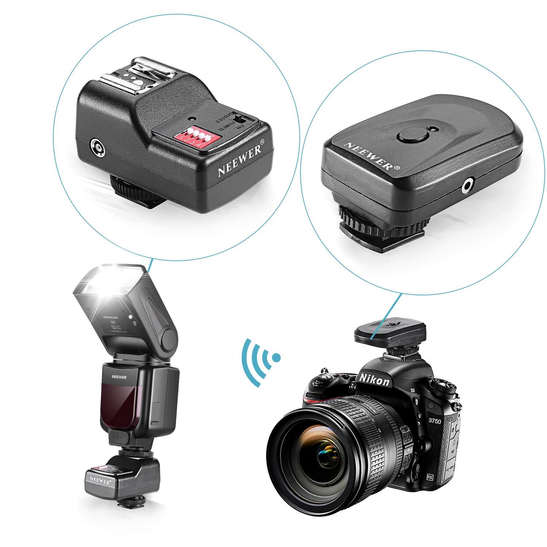 Neewer Pro i-TTLFlash Deluxe - Kit para cámara réflex Digital ...