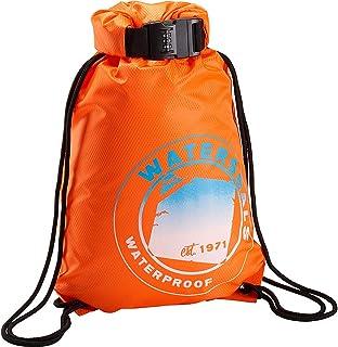 Lightweight Waterproof Large Storage Drawstring Bag For Men /& Women Shark In Orange Cinch Backpack Sackpack Tote Sack