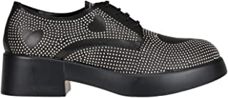 Moschino Luxury Fashion | Love Womens MCGLCAB000006023I Black Lace-Up Shoes | Season Outlet