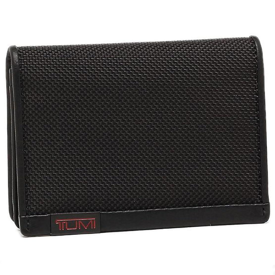 二年生既婚統計的(トゥミ) TUMI トゥミ カードケース TUMI 119256 DID GUSSETED CARD CASE WITH ID 定期入れ?パスケース BLACK [並行輸入品]