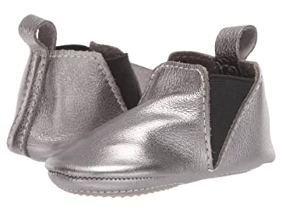 Freshly Picked Gunmetal Chelsea Boot Mini Sole (Infant/Toddler) (Steel) Kid