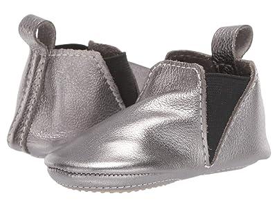 Freshly Picked Gunmetal Chelsea Boot Mini Sole (Infant/Toddler) (Steel) Kid