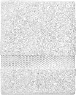 Yves Delorme - Etoile Blanc (White) 28 x 55 in Bath Towel - Luxury Bath Towel from France.