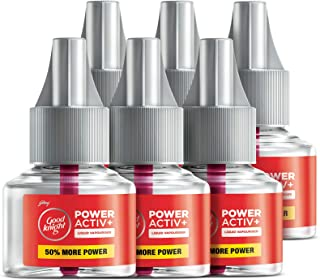 Good knight Power Activ+, Mosquito Repellent Refill (Pack of 6)