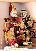 Harlequin Dolls/Nostalgic Still Life of Antique Porcelain Dolls/Fine Art Photography Print