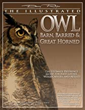 Illustrated Owl: Barn, Barred & Great Horned: The Ultimate Reference Guide for Bird Lovers, Artists, & Woodcarvers (Fox Chapel Publishing) Paint Patterns and Color Charts by Lori Corbett