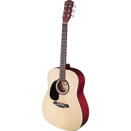 "Joymusic 6 String 41"" Left-handed Acoustic Guitar,Natural,Matt (JOY-202), (JOY202)"