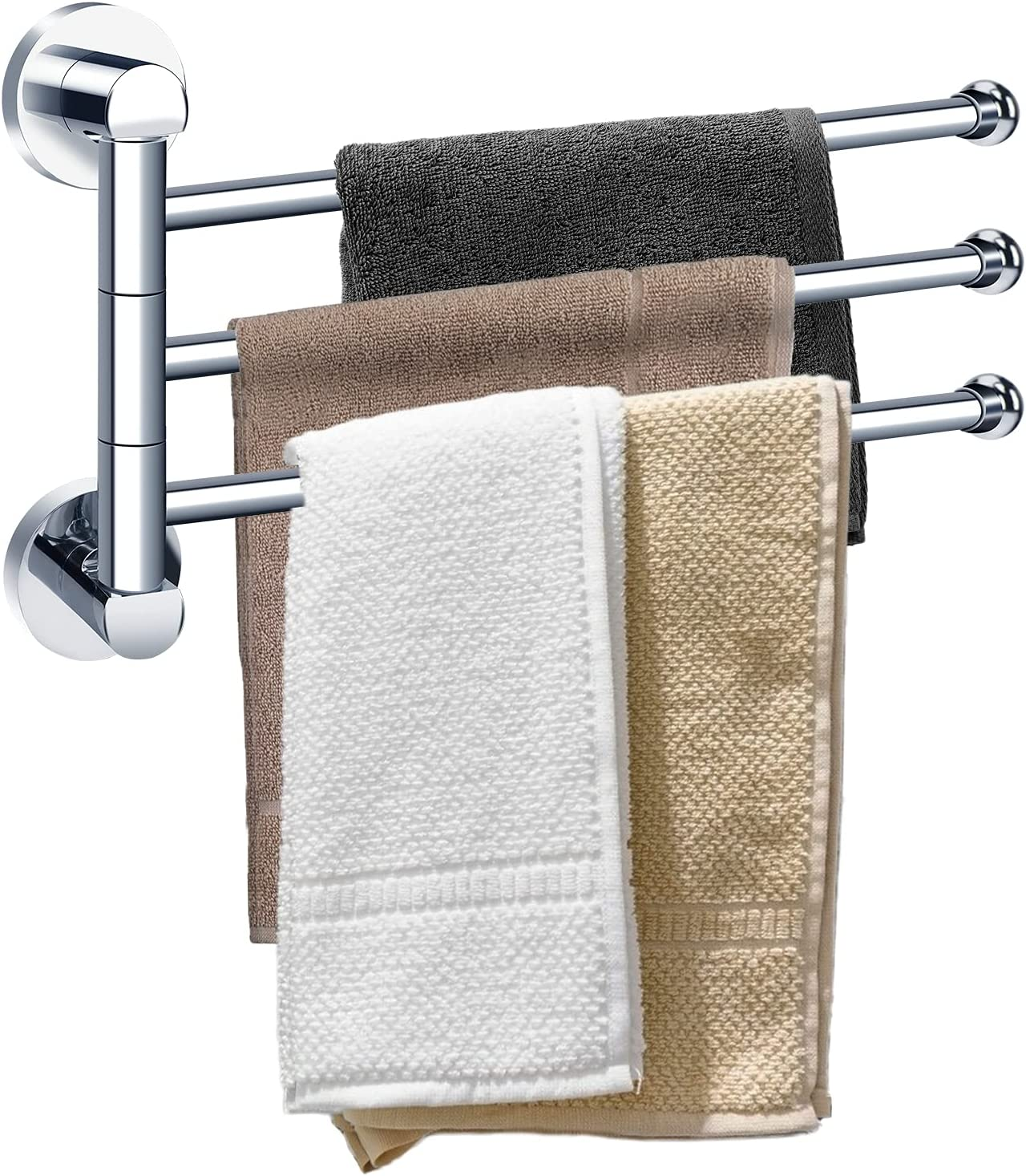 Max 90% OFF WIOR Swing Special Campaign Out Towel Bar Sw Steel Wall-Mounted Stainless SUS304