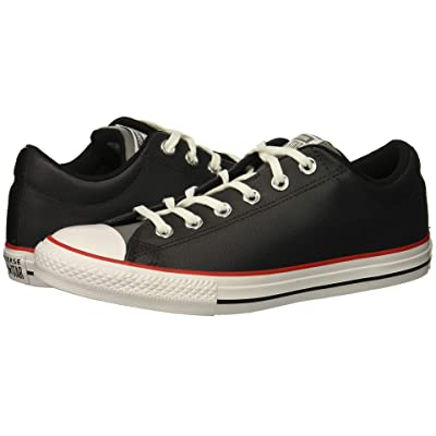 Converse Kids Chuck Taylor All Star Street Slip (Little Kid/Big Kid) (Almost Black/Mason/White) Boy