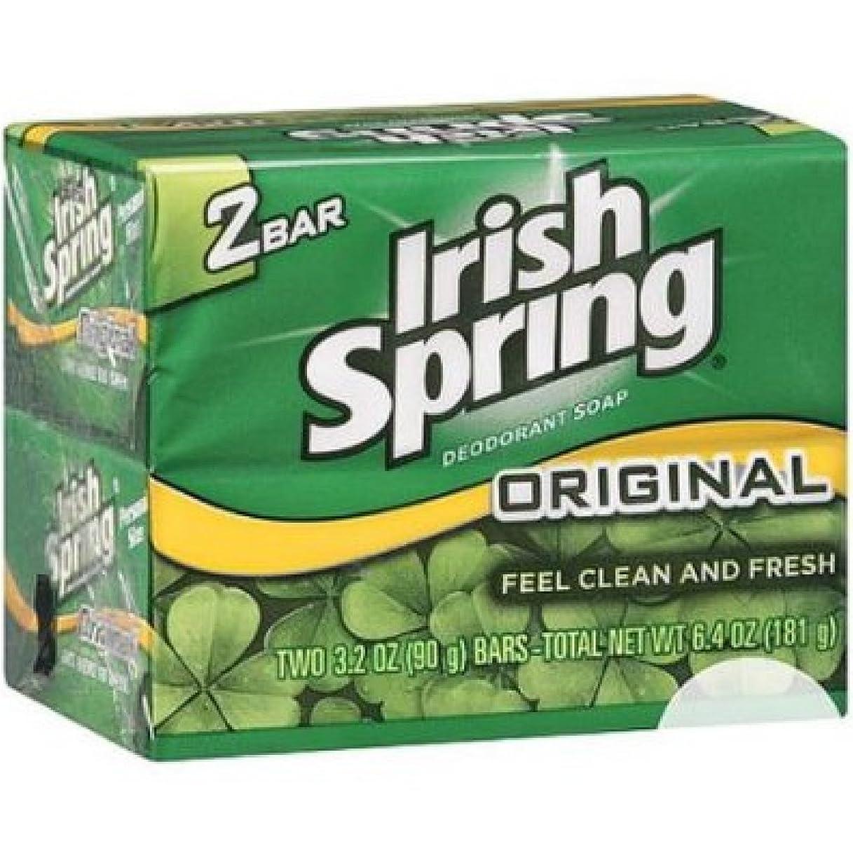 レーザ性差別応答Irish Spring オリジナルデオドラント石鹸、3.20オズバー、2 Eaは 8パック