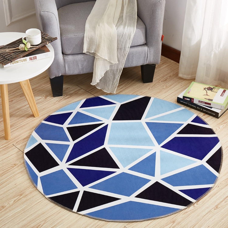 Computer Chair mat for Carpet,Round Floor mat Round Carpet Swivel Chair mat Hanging Basket mat-D diametro80cm(31inch)