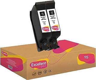 Excellent Print 15 Compatible Cartuchos de Tinta para HP PSC 950 2120 720 Fax 1230xi