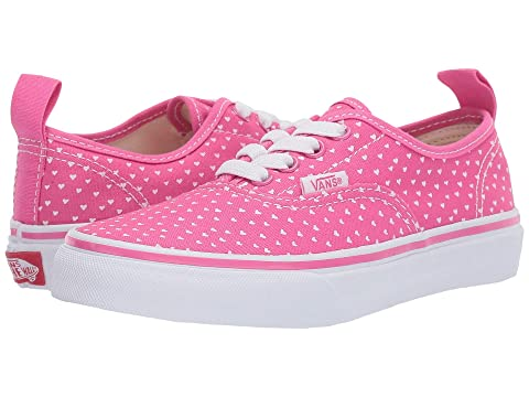 d87cf6c125 Vans Kids Authentic Elastic Lace (Little Kid Big Kid) at Zappos.com