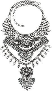 boho bib necklace
