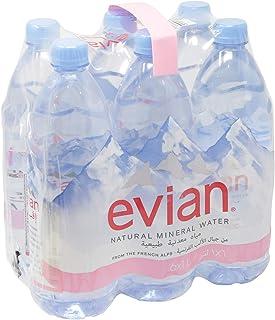 Evian Mineral Water, 6 Pcs - 6 Litre