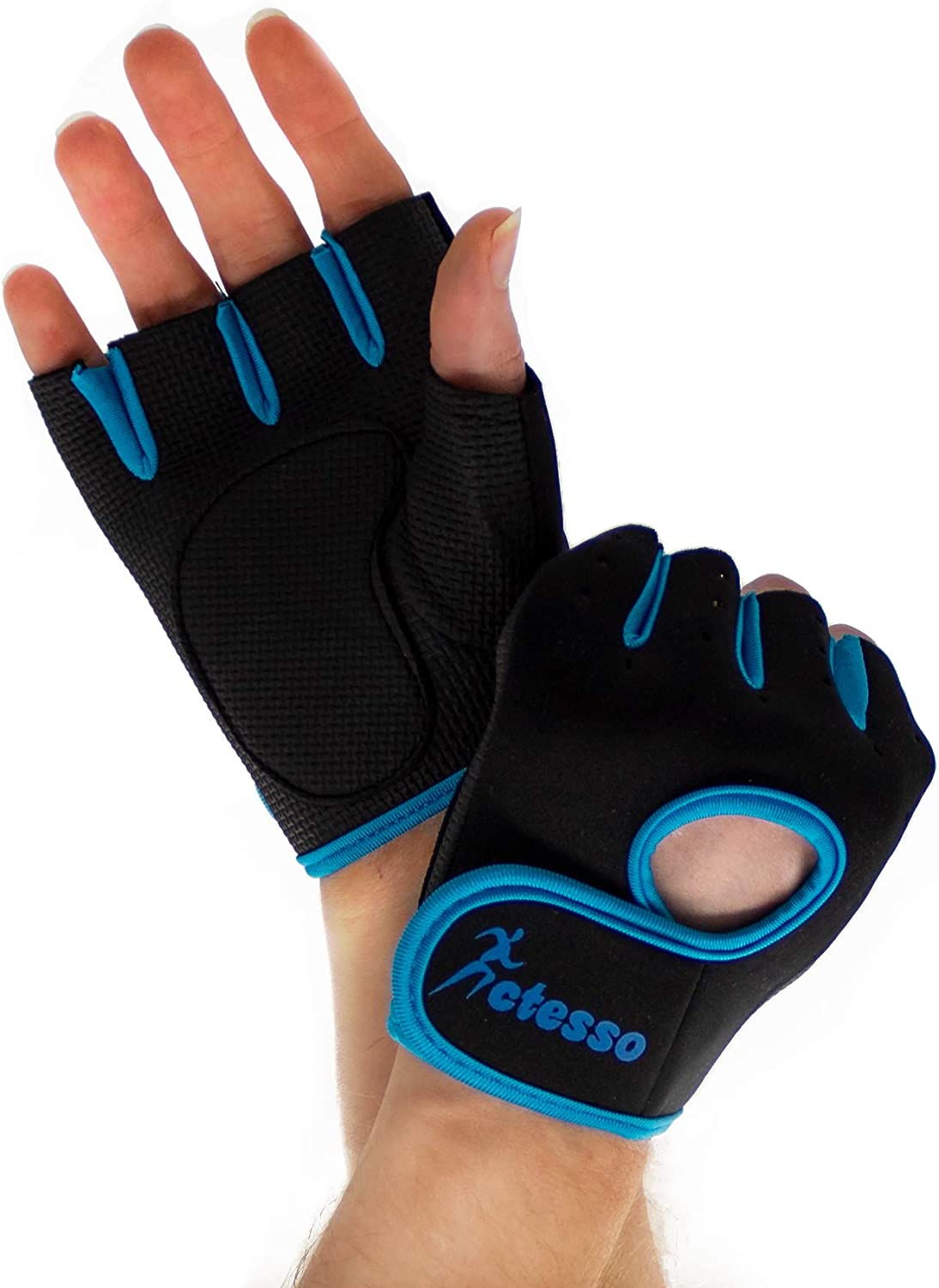 Gym Gloves for Sports – Weight Lifting Men  Women, Rowing