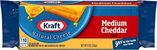 Kraft Medium Cheddar Cheese (8 oz Block)