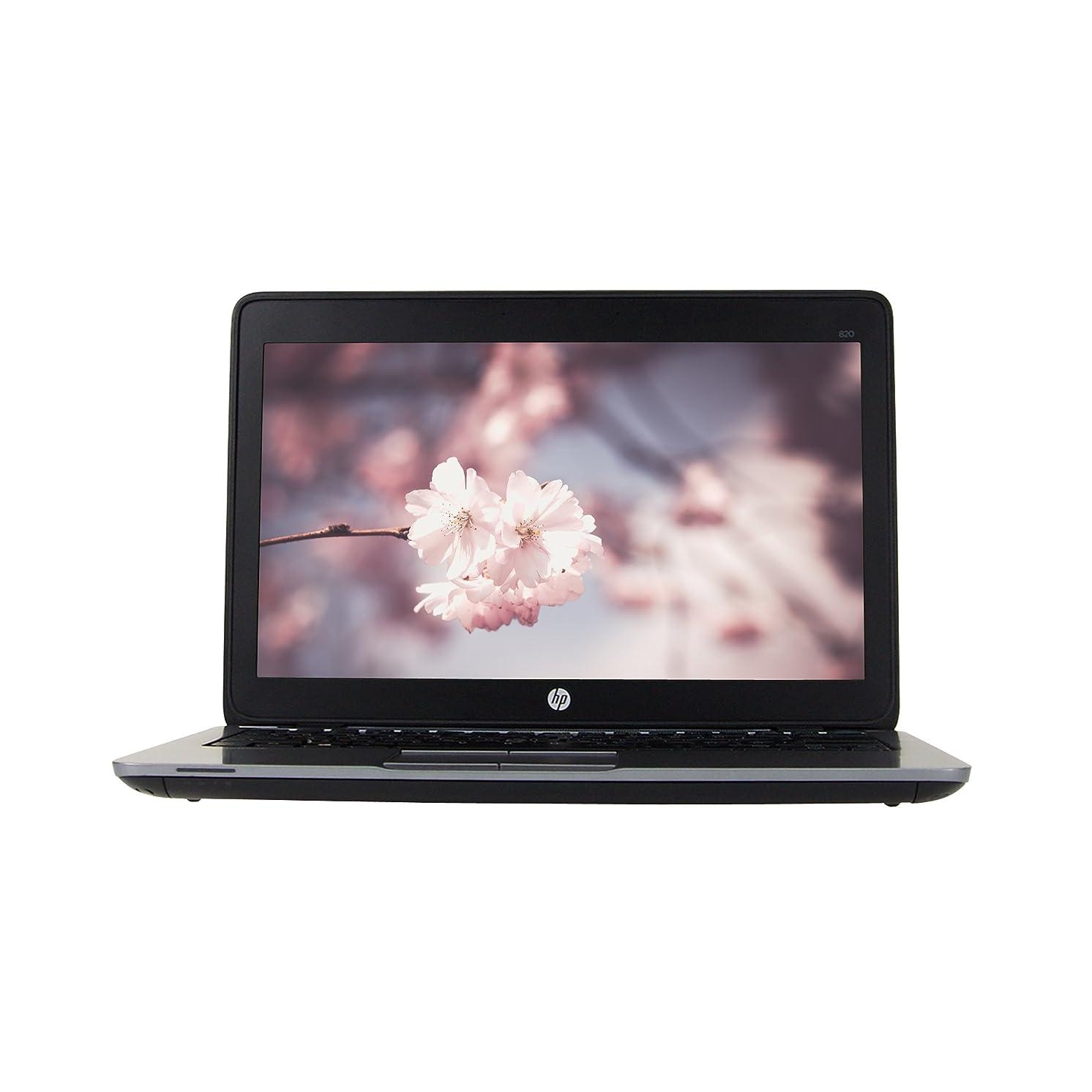 HP EliteBook 820 G2 12.5in Laptop, Core i5-5300U 2.3GHz, 8GB Ram, 480GB SSD, Windows 10 Pro 64bit (Renewed)