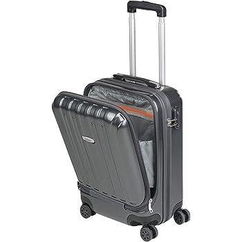 Noire REYLEO Valise Cabine avec Port USB Bagage 4 * 2 Roues Valise Rigide Serrure TSA Valise en 100/% Polypropyl/ène R/ésistante 32L Ultra l/ég/ère