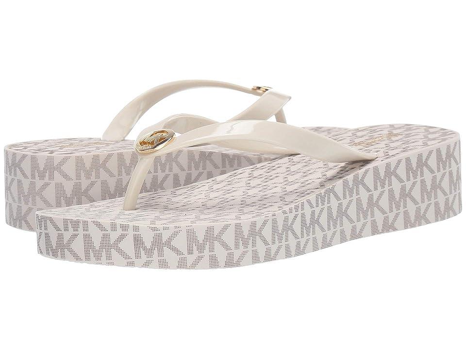 MICHAEL Michael Kors Bedford Flip-Flop (Vanilla) Women