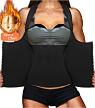 LODAY Womens Shapewear Weight Loss Neoprene Sauna Sweat Waist Trainer Corset Tank Top Vest Sport Workout Slimming Body Shaper