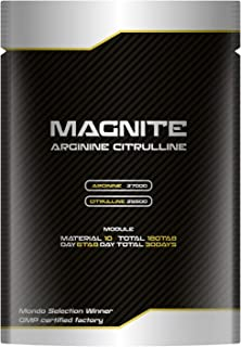 BULKEY MAGNITE(マグナイト) タウリン マカ アルギニン27000mg シトルリン25500mg 亜鉛 厳選10種配合180粒30日分