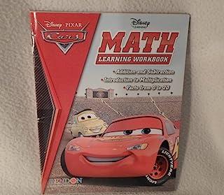 Cars Disney Pixar Math Learning Workbook