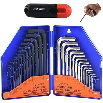 Hex 0.7mm 0.9mm 1.3mm 1.5mm 2mm 3mm 4mm 5 Metric Allen Keys 6 8 12 10