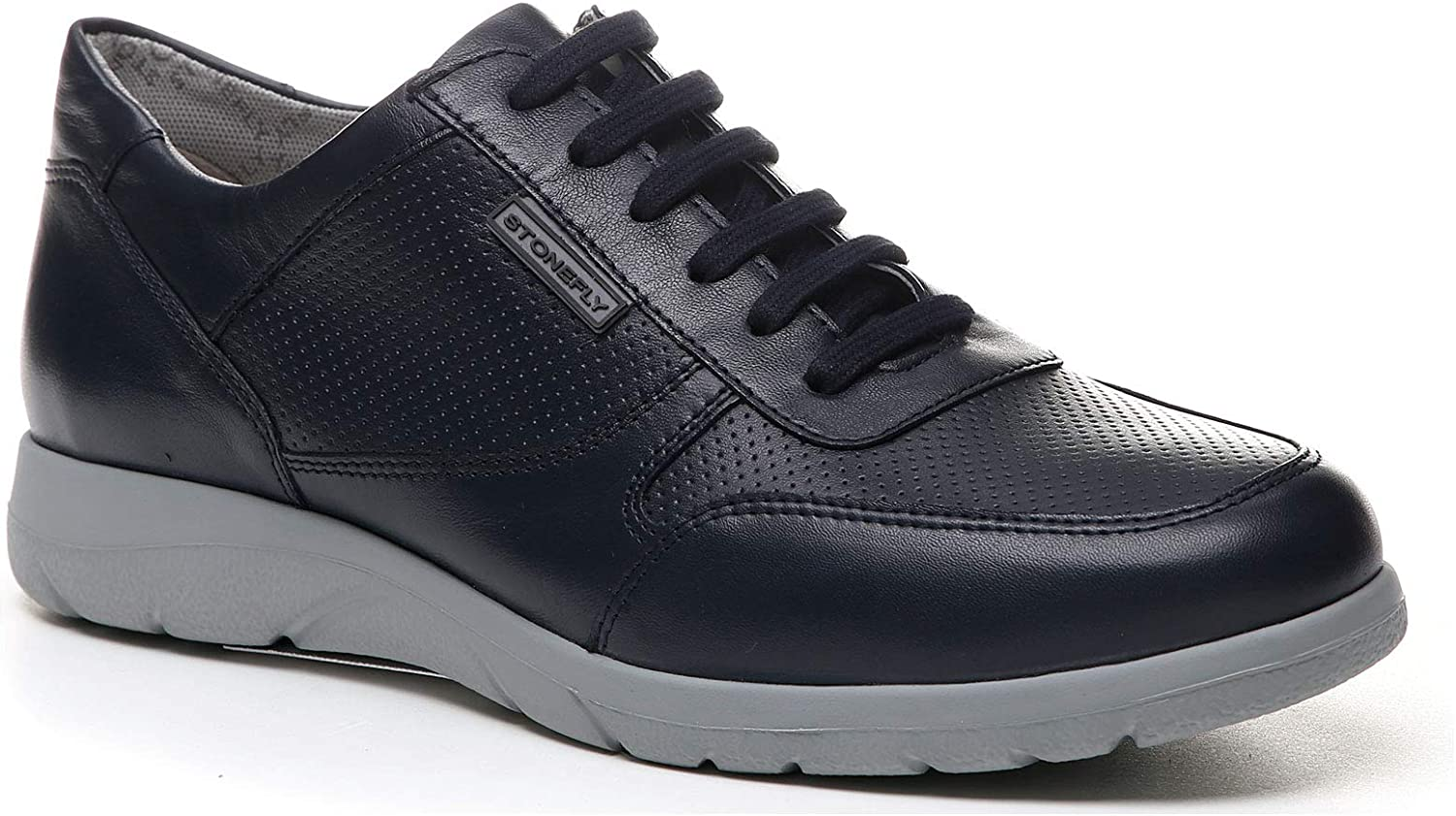 Stonefly Casual shoes for Men, Colour Black, Brand, Model Casual shoes for Men Space Man 3 Black
