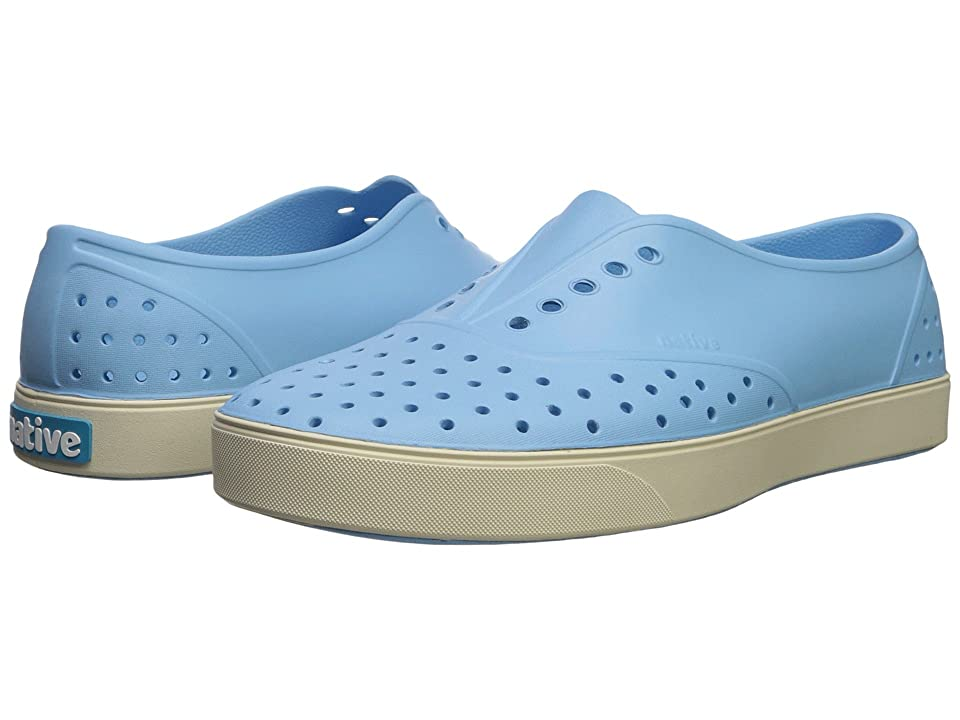 Native Shoes Miller (Sky Blue/Bone White) Slip on Shoes