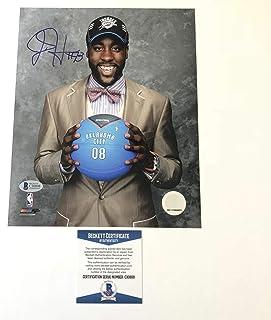 James Harden signed 8x10 photo BAS Beckett Oklahoma City Thunder Autographed