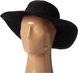 5d0cdc96 SCALA Big Brim Cotton Sun Hat at Zappos.com