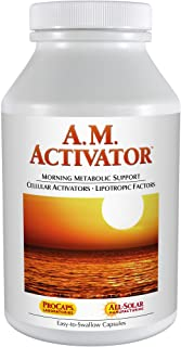 Andrew Lessman A.M. Activator 30 Capsules – Promotes Optimum Fat Burning and Energy Metabolism, with Carnitine, Green Tea,...