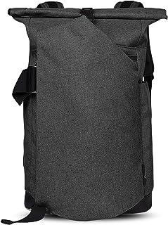 Rolltop Backpack, Business Laptop Anti-Theft Rucksack School Backpack, 30L