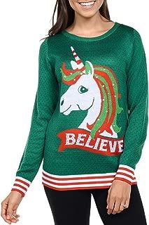 believe unicorn sweater