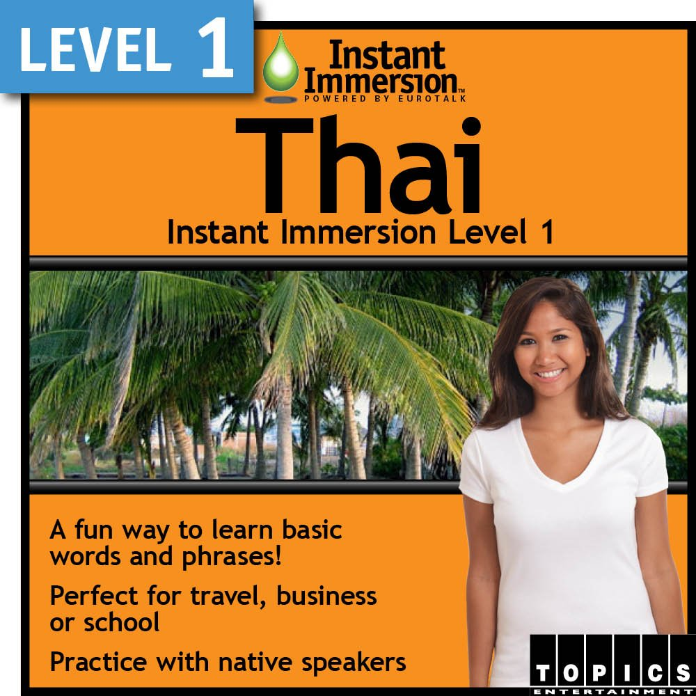 Instant Daily bargain sale Immersion Level 1 Thai Max 87% OFF Download -